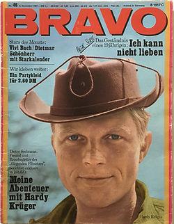 jimi hendrix collector magazine/bravo N°46/6/11/67