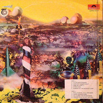 hendrix rotily vinyls collector/vol2 electric ladyland/ S.africa