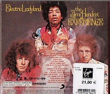 jimi hendrix collector cd/ dvd electric ladyland 2010 family