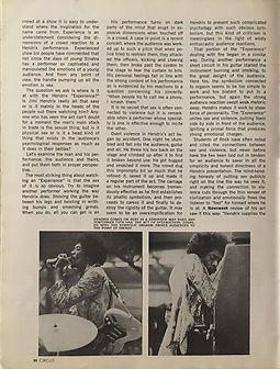 jimi hendrix magazine 1969/ circus sept.69