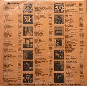 jimi hendrix album vinyl/more experience norway 1972