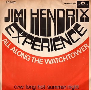 south africa /jimi hendrix collector singles vinyls/ all along the watchtower/long hot summer night
