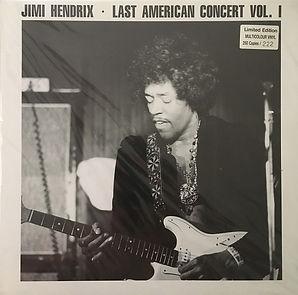jimi hendrix bootlegs vinyls 1970 / swingin' pig :  last american concert vol 1 / multicolour