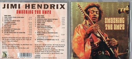 jimi hendrix cd bootleg/ smashing the amps / rattle snake