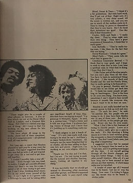 jimi hendrix magazines 1970 / hit parader: january 1970: the gypsy sun