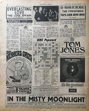 jimi hendrix newspapers/16/12/1967 photo