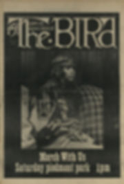 jimi hendrix newspaper 1969/the bird great speckled september 29 1969