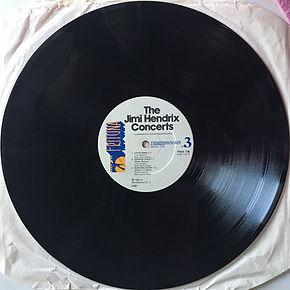 jimi hendrix vinyls album / the jimi hendrix concerts / side 3 :  frituna records