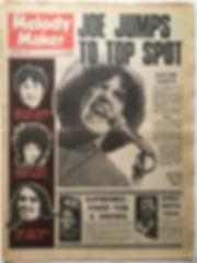 jimi hendrix newspaper 1968/ melody maker november 9 1968