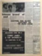 jimi hendrix newspaper/go october 4 1968 : a god for hendrix