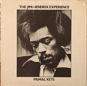 jimi hendrix collector bootlegs vinyls lp album/primal keys 1981 usa