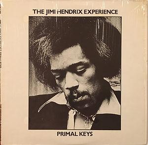 jimi hendrix collector bootlegs vinyls lp album/primal keys 1981 usa