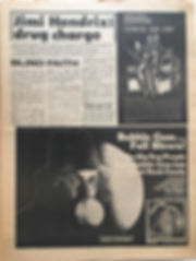 jimi hendrix newspapers 1969/go may 16 1969/jimi hedrix: drug charge