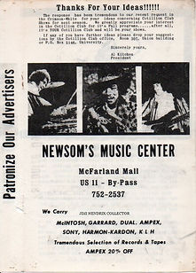 jimi hendrix memorabilia 1969/ program concert may 7 1969/memorial colisium