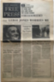 los angeles free press february 16 1968/jimi hendrix newspaper collctor