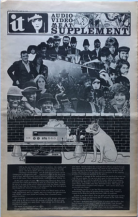 jimi hendrix newspaper 1969/it supplement march 28 1969