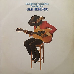 jimi hendrix vinyls 1973 /sound track recording from the film/france