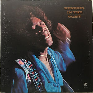 jimi hendrix vinyl lps album/in the west fan-club usa reprise R113688