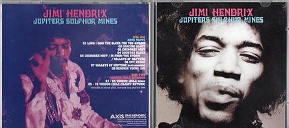 jimi hendrix bootlegs/cd jupiters sulphur mines/axis