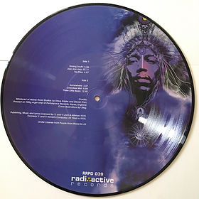 jimi hendrix boolegs vinyls lps albums /axis out takes vol2 / radioactive records picture disc