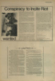 jimi hendrx newspaper 1969/the bird great speckled september 29 1969