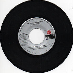 side a/opening jam jimi hendrix singles vinyls collector 1971