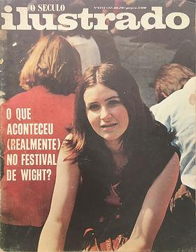 jimi hendrix magazines 1970 death/  o seculo ilustrado : october 17,1970 /portugal