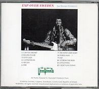 jimi hendrix cd bootlegs/exp over sweden univibes