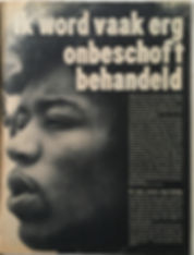jimi hendrix magazinr muziek parade february 1968
