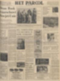 jimi hendrix newspapers 1968 / het parool november 16, 1968