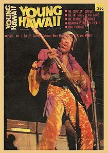 jimi hendrix magazine 1969/ young hawaii  june 15,1969