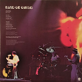 jim hendrix vinyl lp album/band of gypsys 1975