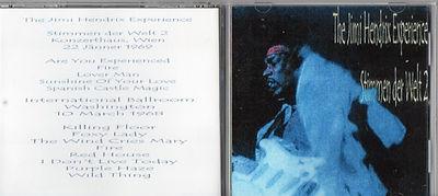 jimi hendrix cds bootlegs/stimmen der welt 2