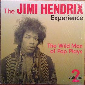 color the wild man of pop plays vol 2/jimi hendrix rotily collector vinyl