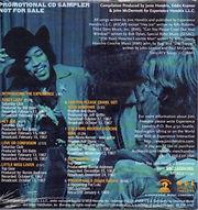 jimi hendrix family edition  /  bbc sessions  promotional sampler cd