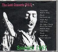jimi hendrix cd bootlegs/ concerts vol .5 sweden 1967