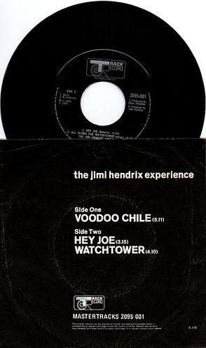 jimi hendrix collector/EP/singles/voodoo chile/hey joe/watchtower  1970 england