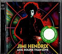 jimi hendrix collector bootlegs cd/axis bolder than love