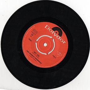 jimi hendrix collector 45t singles vinyls/ hey joe sueden 1967