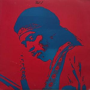 jimi hendrix bootlegs vinyls 1970 / jimi hendrix live isle of wight  30-8-1970 vol. 2
