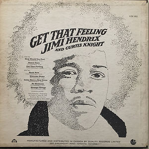 jimi hendrix vinyls albums/get that feeling 1968