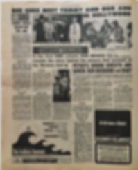 jimi hendrix newspaper collector/new musical express 10/2/68