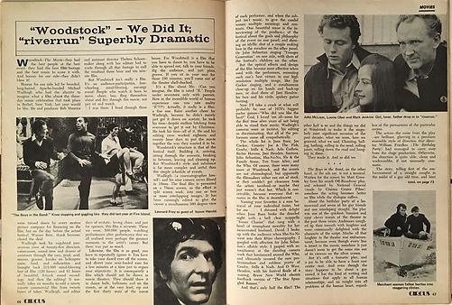 jimi hendrix magazines 1970 / circus june 1970