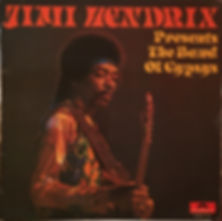 jimi hendrix collector vinyls/jimi hendrix presents the band of gypsys  1971 holland
