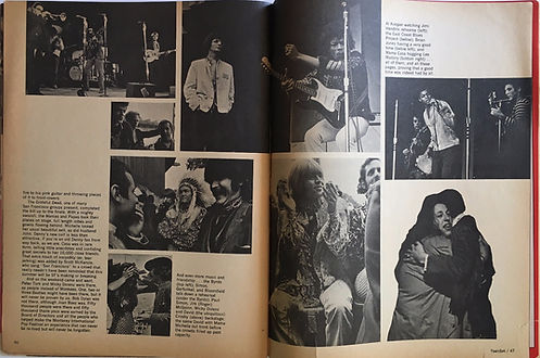 jimi hendrix collector magazine/teenset october 1967