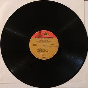 jimi hendrix collector/otis redding-jimi hendrix experience historic performance monterey pop festival reprise record fan club 1970