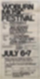 jimi hendrix memorabilia 1968/worburn music festival 1968