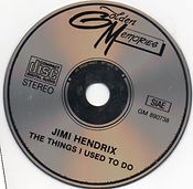 jimi hendrix bootlegs cds 1969 / the things i used to do