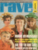 magazine collector  jimi hendrix/ rave 8/67