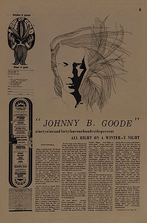 jimi hendrix newspapers 1969/the east village other december 3, 1969